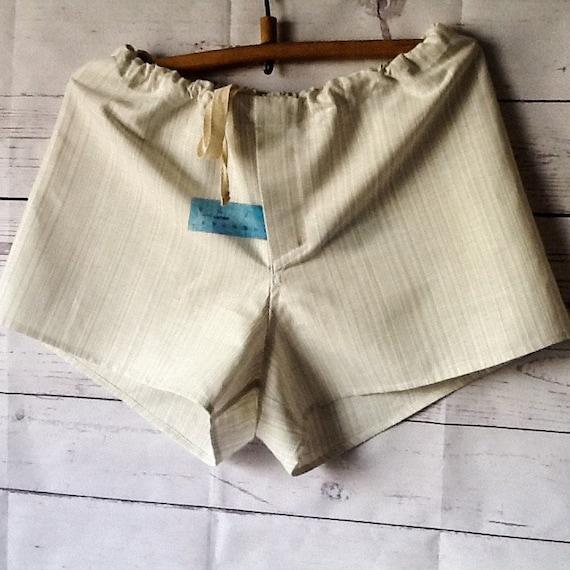 Linen underwear mens shorts with fly Organic Pure linen shorts  0e7b29d0605f