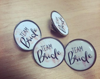 Items similar to Hen Party Handmade Badges - Personalised