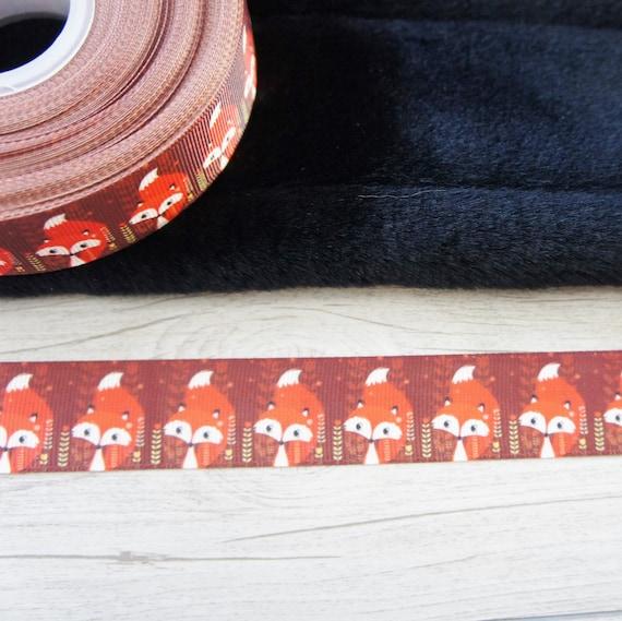 MULTI ANIMAL PRINT 7//8 INCH-5 YARDS RIBBON really cute ribbon
