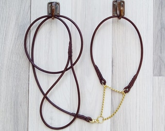 Leather Dog ShowSet - Round/Rolled Leather