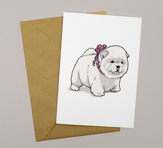 Chow Card Dog Birthday For Owner