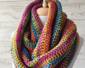Scarf, infinity scarf, scarf, knit scarf, women scarf, circle scarf, chunky scarf Many Colors FAST DELIVERY