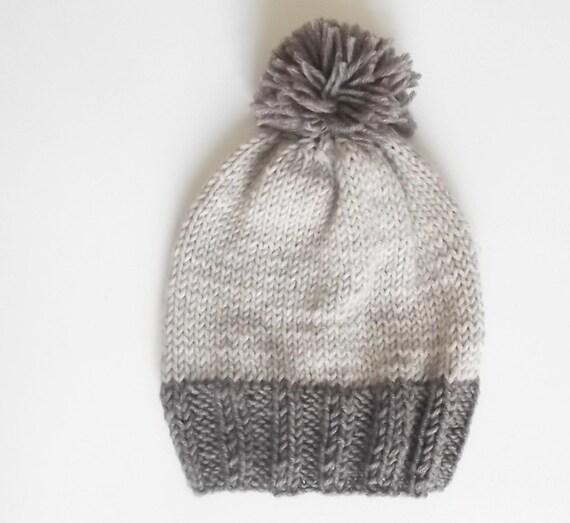 Les garçons chapeau chapeau enfant bonnet en tricot pompon   Etsy 408f4ee83da