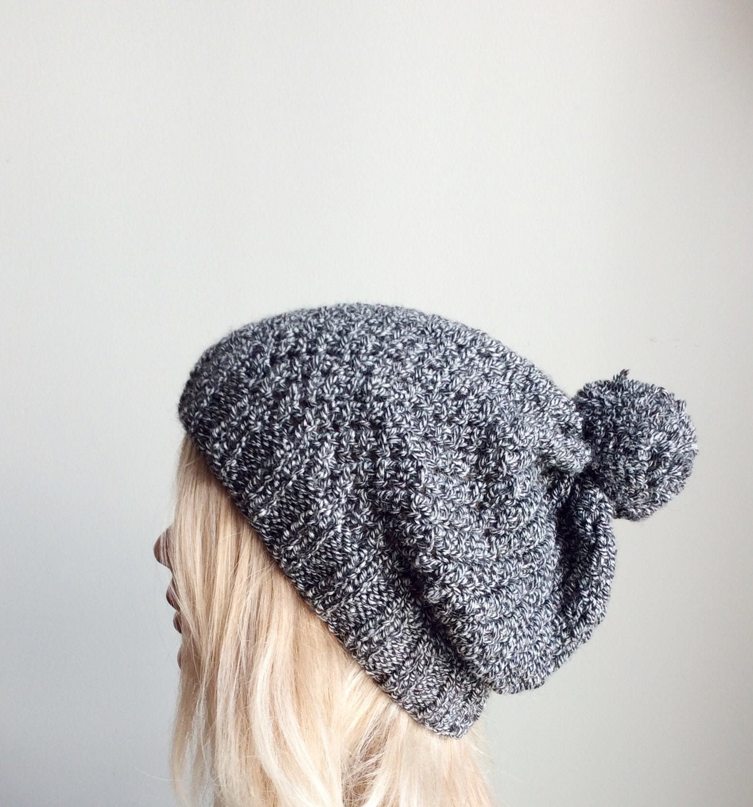 32eacb365 Mens Knit Hat With Pom