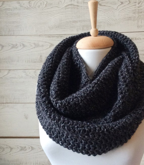 Gifs For Him Knit Scarf Cowl Mens Scarf Infinity Scarf Etsy