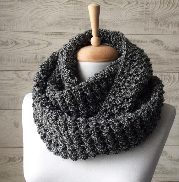 gran venta 3b282 e44ee Para hombre de punto bufanda bufanda grueso círculo bufanda cálida bufanda  bufanda para hombre bufanda para hombre punto bufanda de invierno capucha  ...