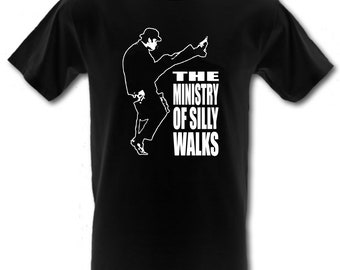a282bd81 MINISTRY of Silly Walks Monty Python Retro 100% Cotton t-shirt All Sizes  Small - XXL (kids and adults)