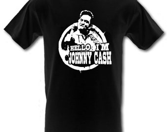 a2eea628651 JOHNNY CASH Man in Black Middle Finger 100% Cotton t-shirt All Sizes Small  - XXL (kids and adults)