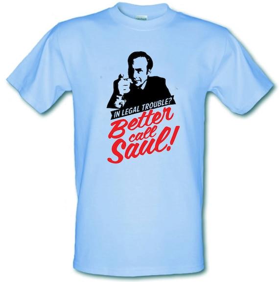 MIEUX appeler SAUL Breaking Bad Bad Breaking inspiré Gildan lourd coton t-shirt toutes les tailles petit - XXL e52377
