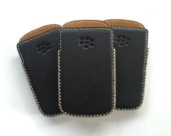 Blackberry Q10, Handmade Genuine Leather Case | Black | Housing/Box Case
