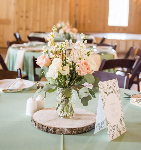 Crafts For Weddings Rustic: 10 Natural Wood Log Slices 10 To 12 Crafts Rustic Wedding