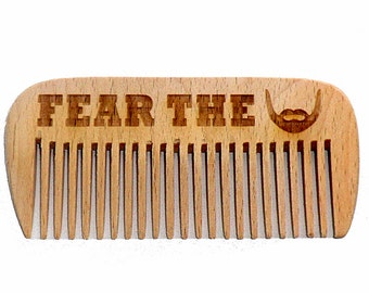 Beard comb Wooden Beard Comb Combs Gifts for dad Gifts for him Gifts for boyfriend Gifts for husband Valentine gifts for him