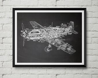 Plane print | Etsy