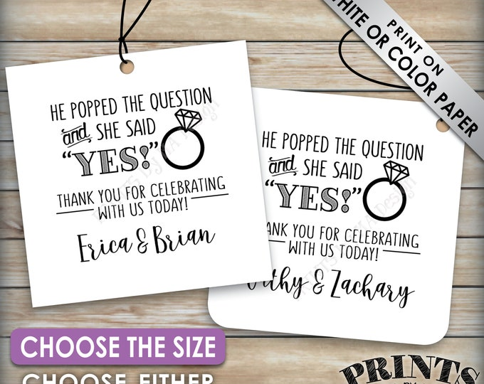 picture about He Popped the Question Printable known as Appear - PRINTSbyMAdesign
