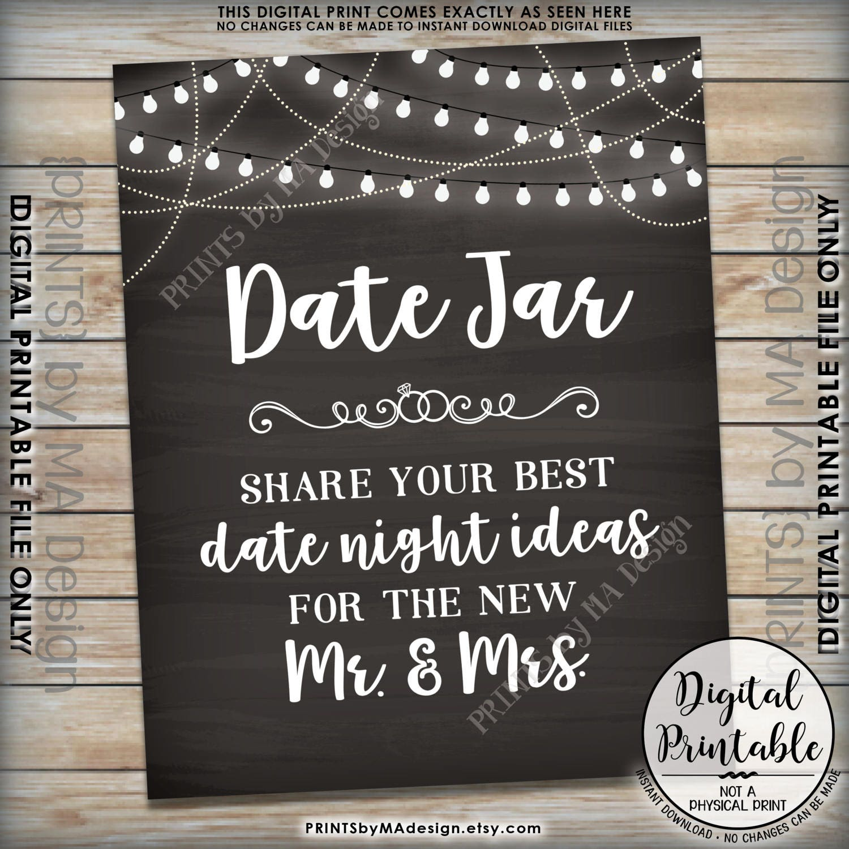 date night jar printable