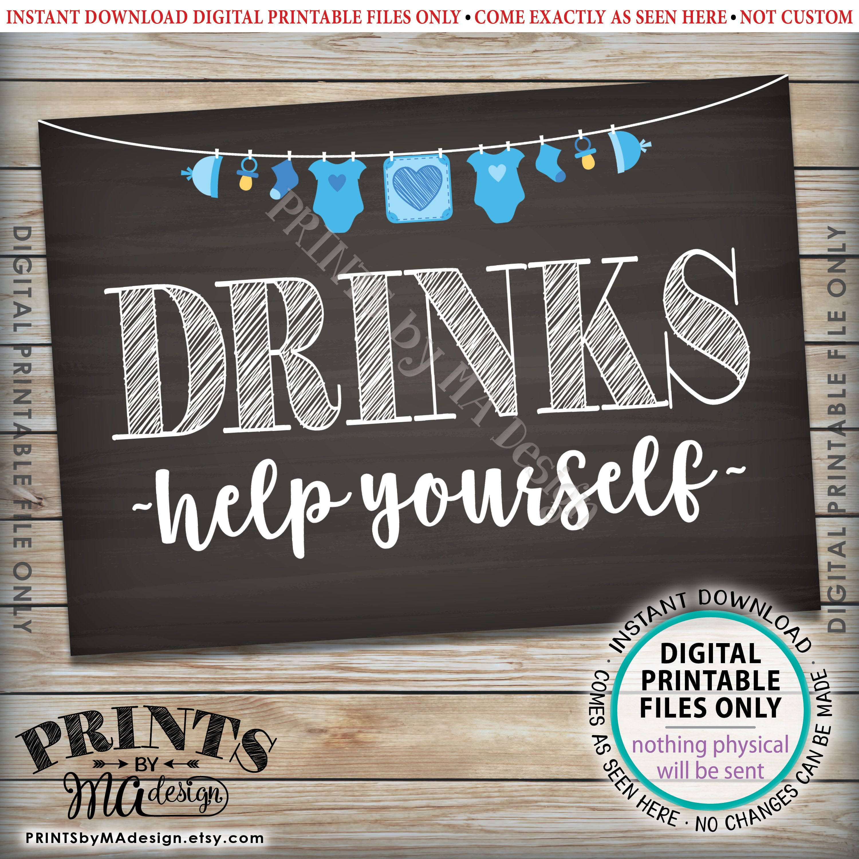 image relating to No Food or Drink Signs Printable named Food stuff and Beverages Indications, Support You, Buffet, Child Shower