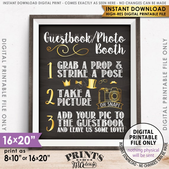 Photo Guest book sign Wedding Photo Guestbook Sign Photobooth Guest book Photo Guest book Sign Wedding Photo Booth Guest Book Sign
