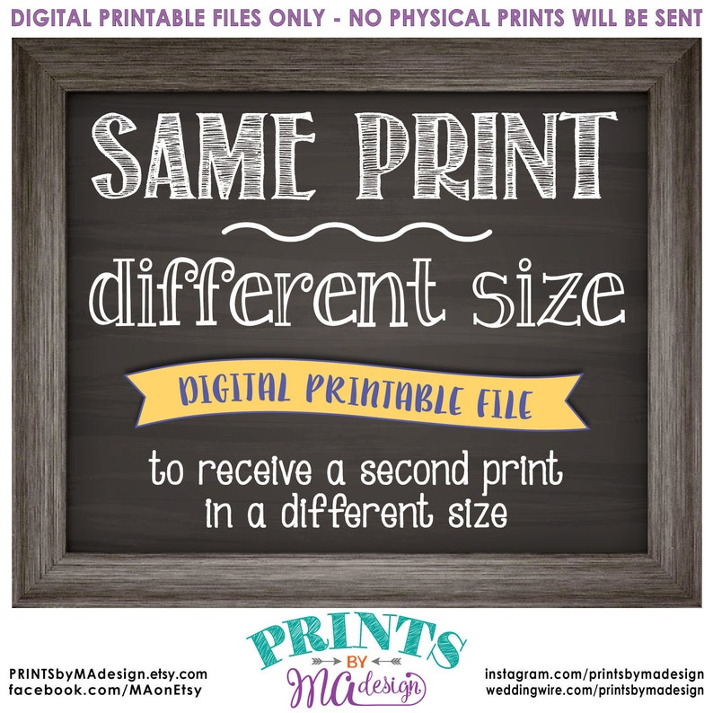Change the size of a custom print in my shop to receive an image 0