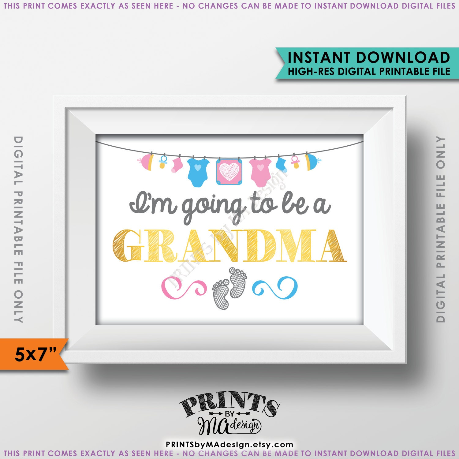 Im Going To Be A Grandma Grandma To Be Announcement Surprise