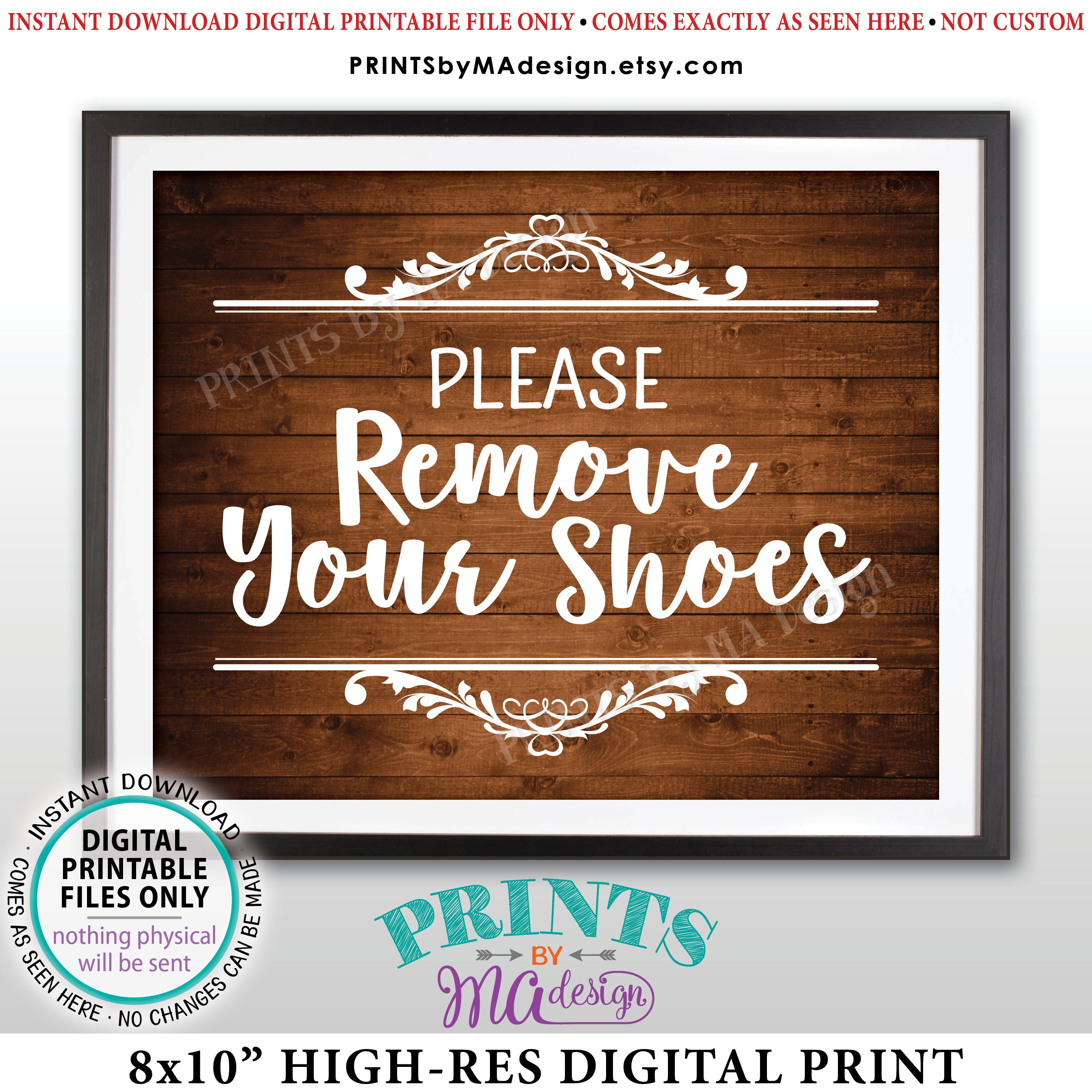 photo about Please Take Off Your Shoes Sign Printable named Be sure to Get rid of Your Footwear Indicator, Get Off Your Sneakers Indication