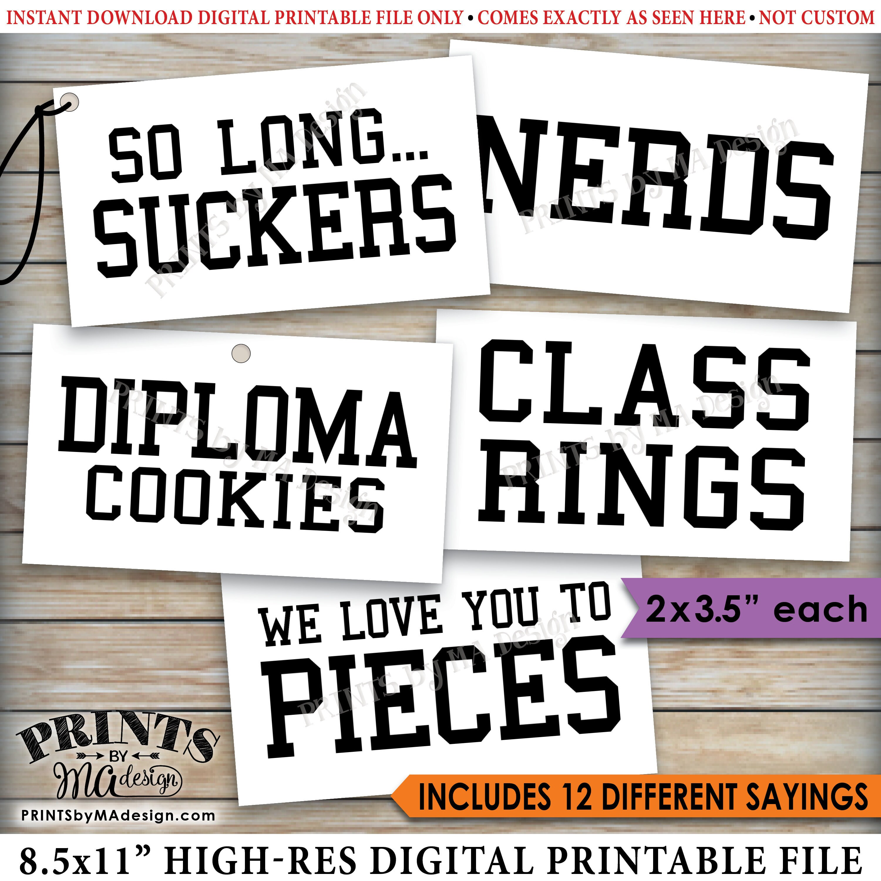photo about Free Printable Graduation Labels called Commencement Get together Sweet Signs and symptoms, Sweet Bar, Sweet Buffet