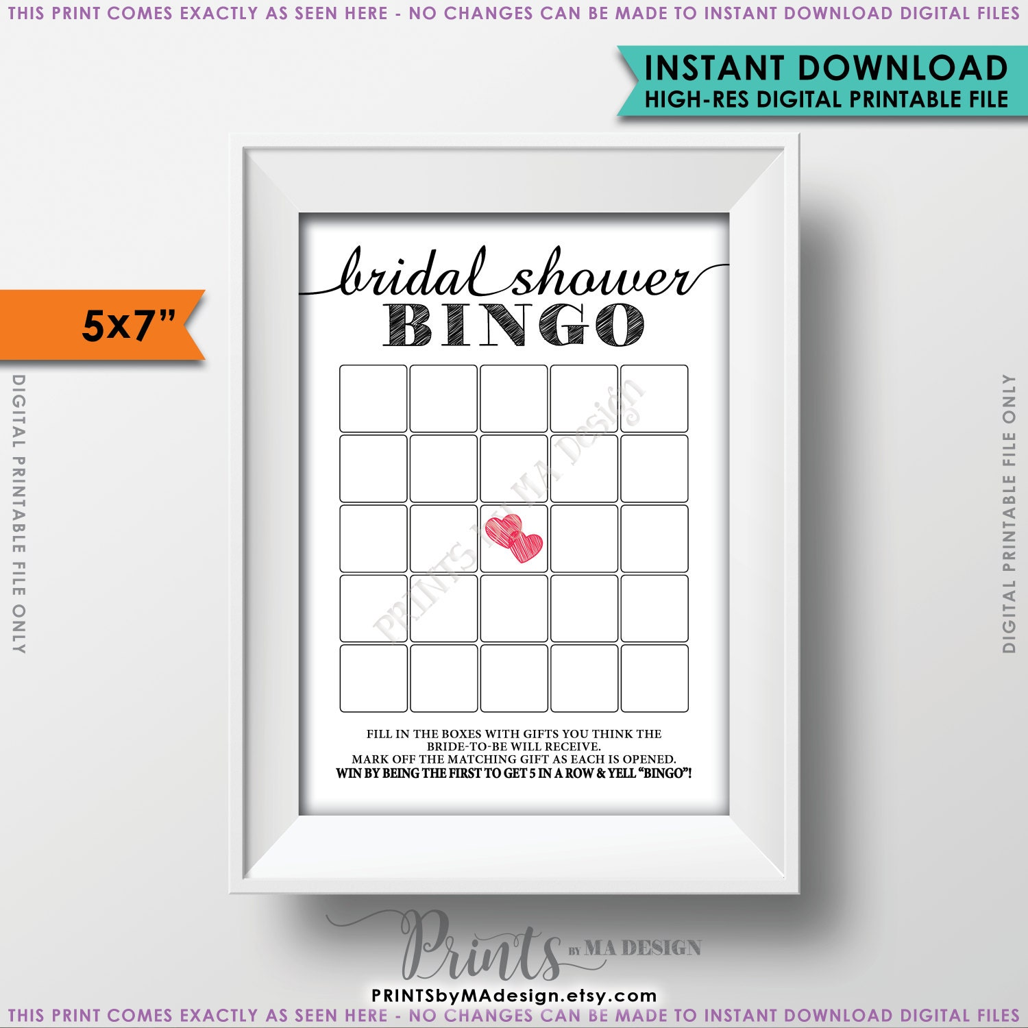 bridal shower bingo cards bridal shower bingo printable blank bridal shower bingo game bridal bingo card printable 5x7 bingo cards