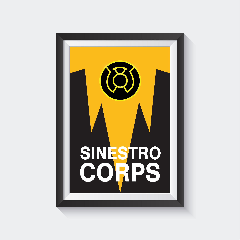 Sinestro Corps Etsy