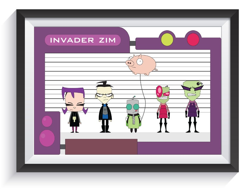 Invader Zim  Group image 0