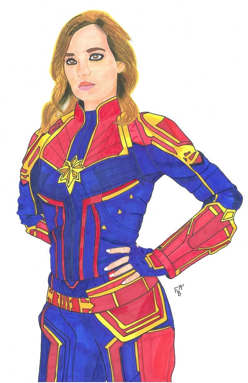 Coplay Print  Captain Marvel image 0