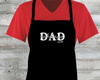Father's Day Custom Apron/ Father's Day Gift/ Gift For Men