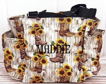 Boot Bouquet Diaper Bag Small Diaper Bag Craft Tote Bag