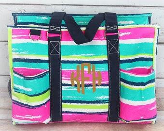 Southwest Serape Diaper Bag for Twins Diaper Bag for Two Diaper Bag for Dad Nursing Bag Utility Tote Craft Storage Craft Tote
