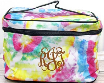 Daydream Believer Cosmetic Train Case With Mirror Makeup Train Case Gifts for Women Cosmetic Organizer