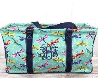 Dragonfly Away Eco Friendly Bag Farmers Market Bag Toy Basket