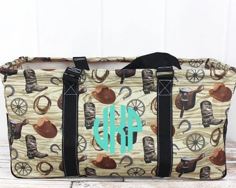 Wild Wild West Eco Friendly Bag Farmers Market Bag Toy Basket