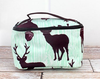 The Buck Stops Here Top Lid Makeup Bag for Teen Girl Gifts Cosmetic Travel Case Cosmetic Bag Gift For Her