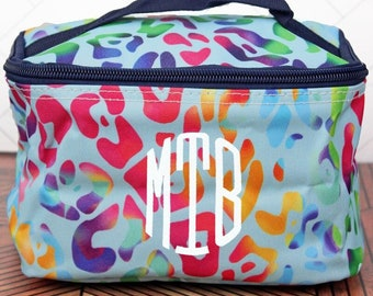 Chasing Rainbows Top Lid Makeup Bag for Teen Girl Gifts Cosmetic Travel Case Cosmetic Bag Gift For Her