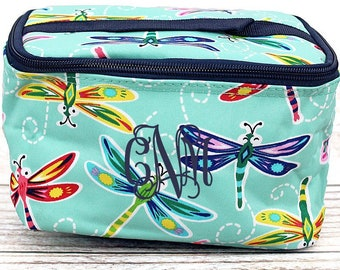Dragonfly Away Top Lid Makeup Bag for Teen Girl Gifts Cosmetic Travel Case Cosmetic Bag Gift For Her