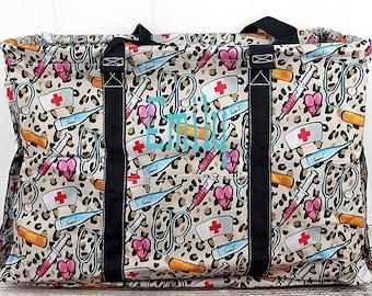 Wild About Nursing Extra Large Eco Friendly Bag Farmers Market Bag Toy Basket