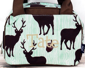 The Buck Stops Here Insulated Lunch Box for School Lunch Bag for Women Lunch Bag for Nurse