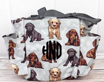 Puppy Love Diaper Bag Small Diaper Bag Craft Tote Bag