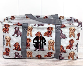 Puppy Love Eco Friendly Bag Farmers Market Bag Toy Basket