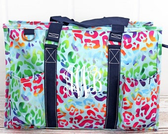 Chasing Rainbows Diaper Bag Gift For Baby Shower Zippered Tote Bag