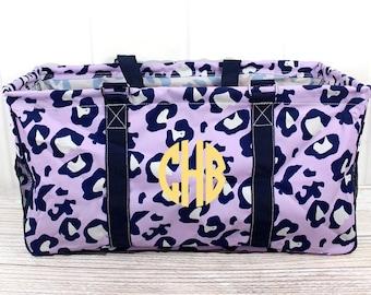 Cheetah Chase Eco Friendly Bag Farmers Market Bag Toy Basket