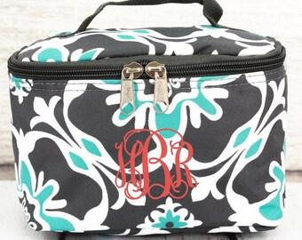 serene garden cosmetic case with top lid travel bag gift for teen teen girl gifts teenage girl gift teen gift