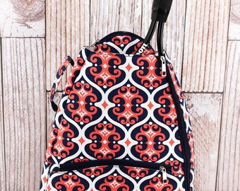 Arabian Nights Personalized Tennis Backpack For Women Custom Tennis Gifts For Her Tennis Bag