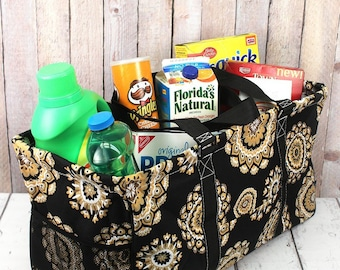 Mandala Sun Eco Friendly Bag Farmers Market Bag Toy Basket