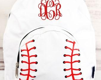 Baseball Laces Preschool Backpack Mini Backpack Purse Backpack Toddler Diaper Bag Backpack Small Backpack