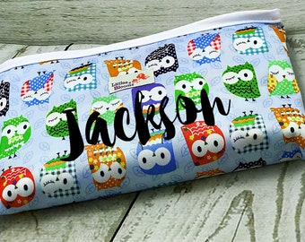 Dancing Owls Changing Pad/ Changing Pad Woodland/ Changing Pad Travel/ Baby Shower Gift for Boy/ Baby Shower Gift for Girl