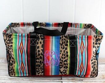 Wild Serape Eco Friendly Bag Farmers Market Bag Toy Basket